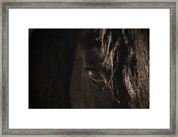 Eternal Eye Framed Print
