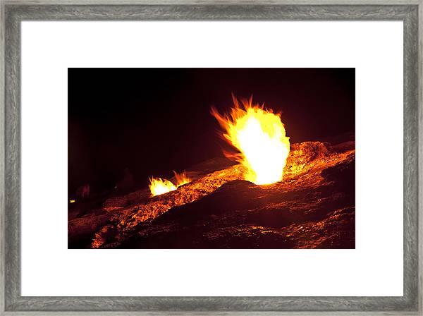 Eternal Flames Framed Print