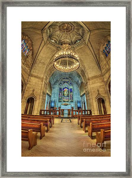Eternal Search Framed Print