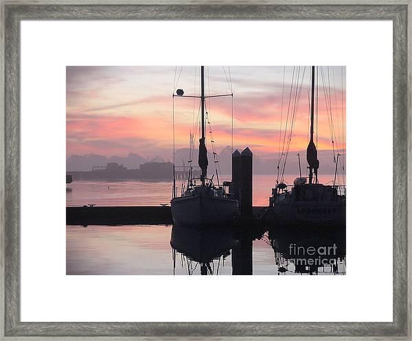 Eureka Framed Print