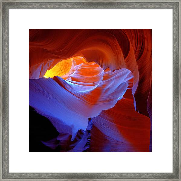 Framed Print featuring the photograph Evanescent Light by Dustin  LeFevre