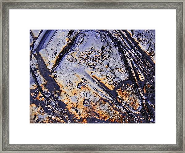 Evening Angles Framed Print