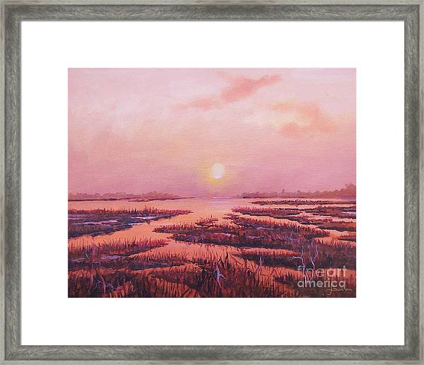 Evening Time Framed Print