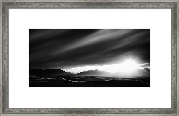 Every Sunrise Is A Gift Framed Print by Yvette Depaepe