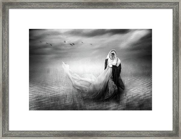 Everything You Thought You Left Behind Framed Print