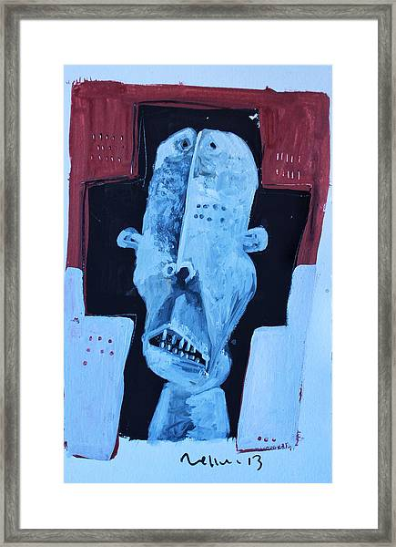 Exanimus No. 7  Framed Print by Mark M  Mellon