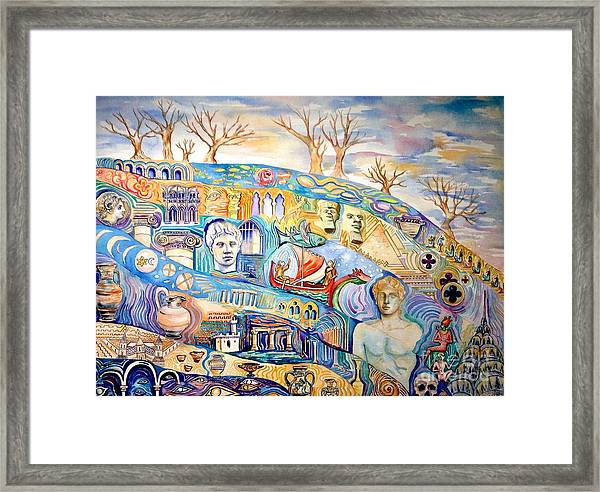 Excavating Western History Framed Print