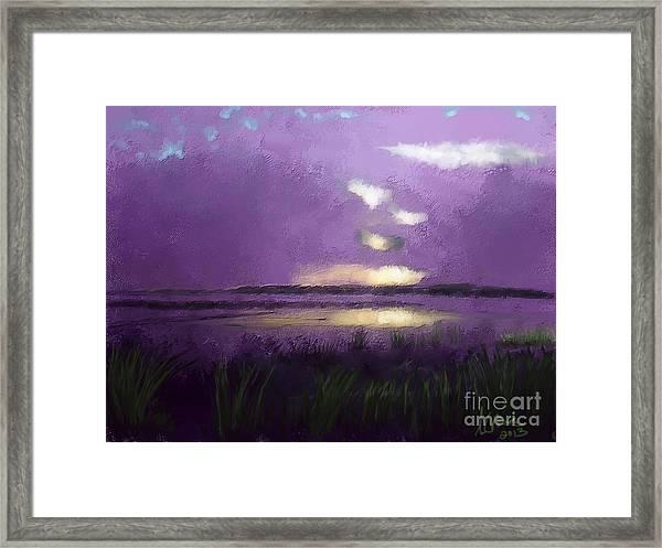 Exe Estuary Framed Print