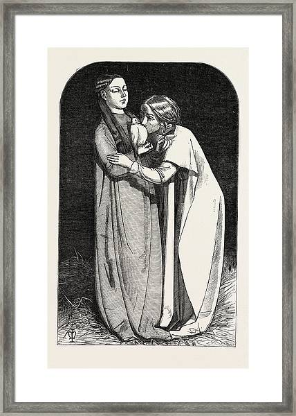 Exhibition Of The Royal Academy, The Return Of The Dove Framed Print by Millais, John Everett (1829?1896), English