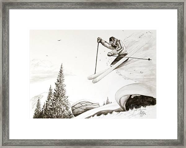 Exhilaration Framed Print
