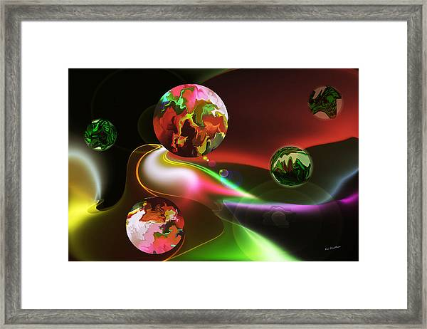 Exotic Worlds Framed Print