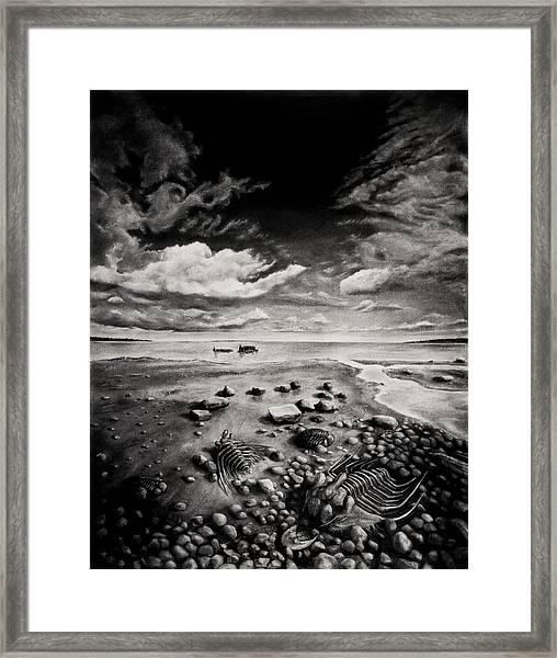 Extinct Framed Print