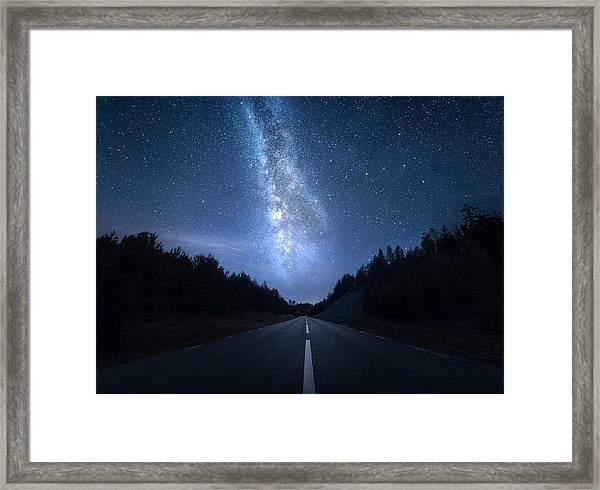 Extraterrestrial Framed Print by Christian Lindsten