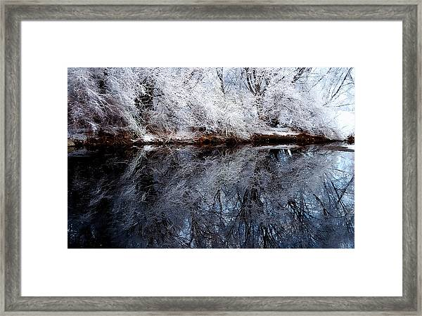 Extreme Reflections Framed Print