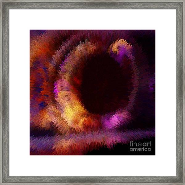 Extruded Framed Print