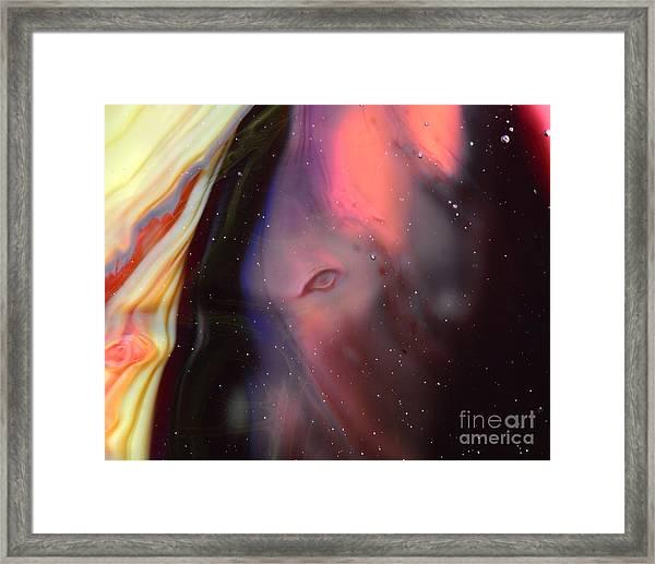 Eye Of The Beast Framed Print