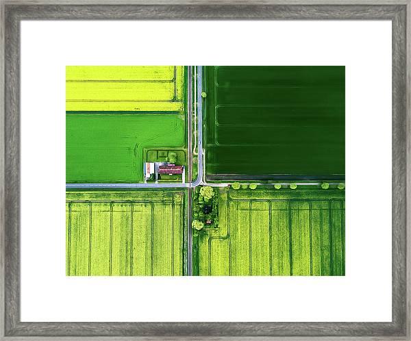 Eye Of The Sky Framed Print