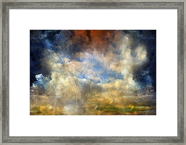 Eye Of The Storm  - Abstract Realism Framed Print