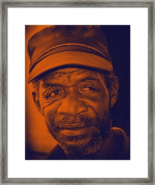 Eye Talk Framed Print