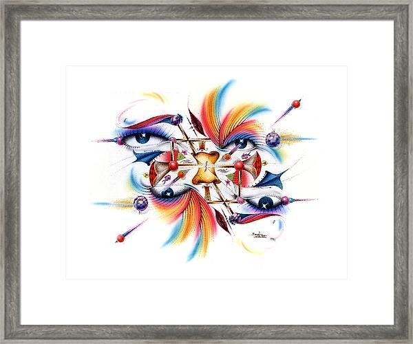 Eyecolor Framed Print
