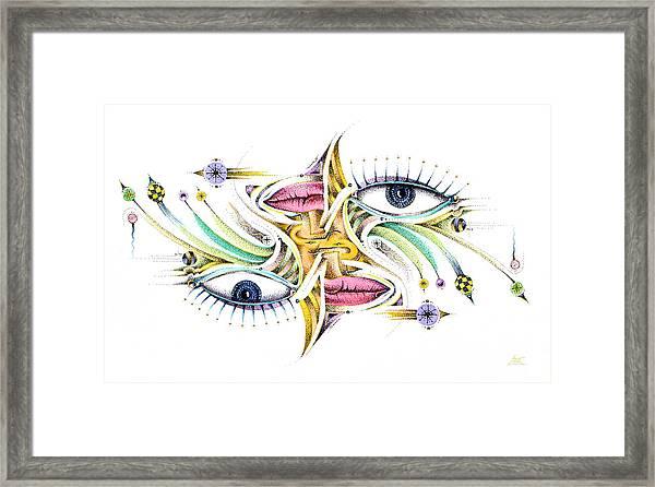Eyelegan Framed Print