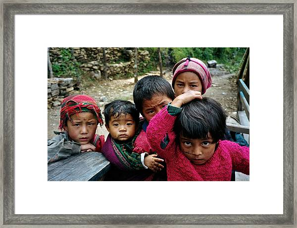 Eyes Forward Framed Print