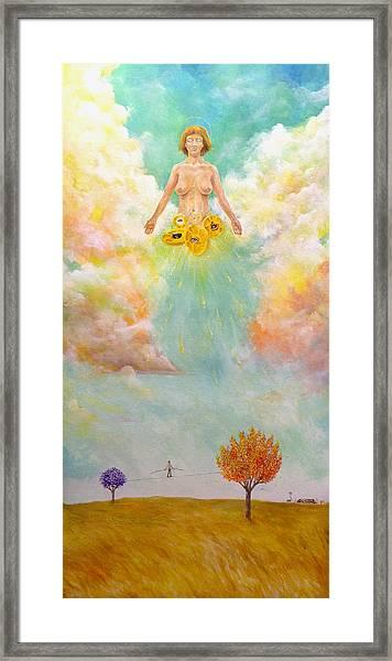 Ezekiel Revisited Framed Print
