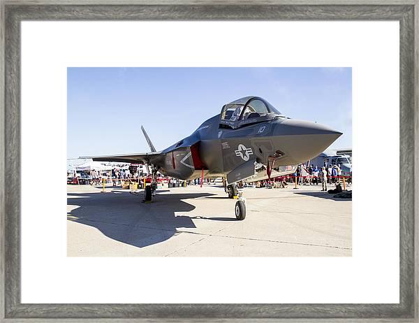 F-35 Framed Print