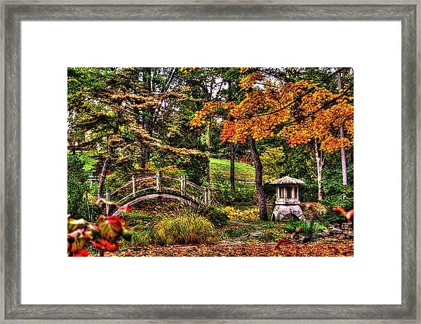 Fabyan Japanese Gardens I Framed Print