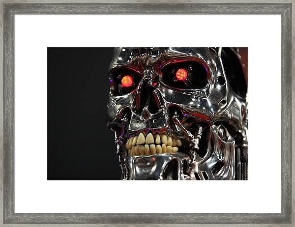 Face Of The Machine Framed Print