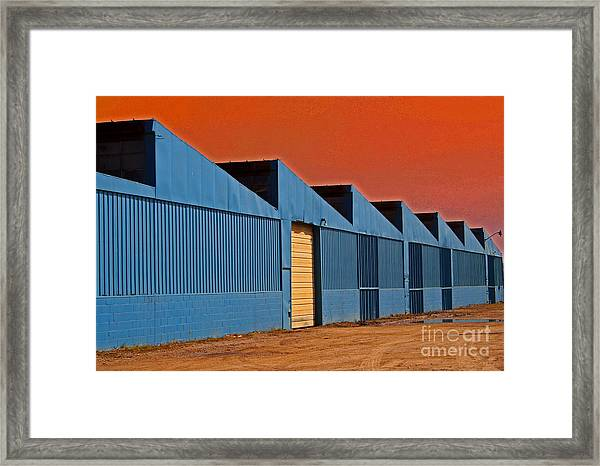 Factory Building Framed Print