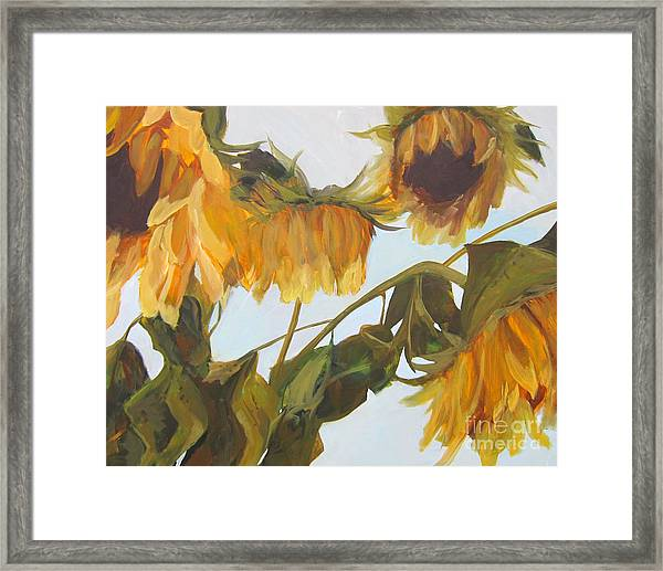 Faded Happiness Framed Print