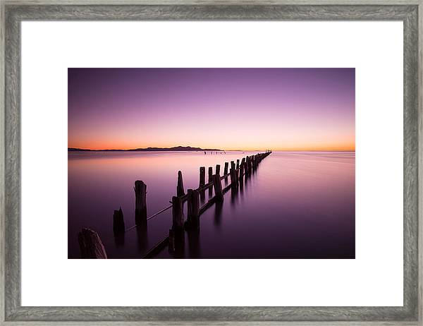 Framed Print featuring the photograph Fading by Dustin  LeFevre