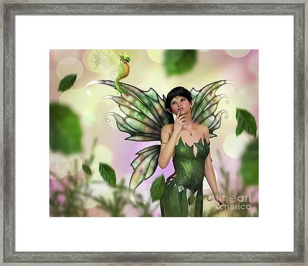 Fae Spring Framed Print