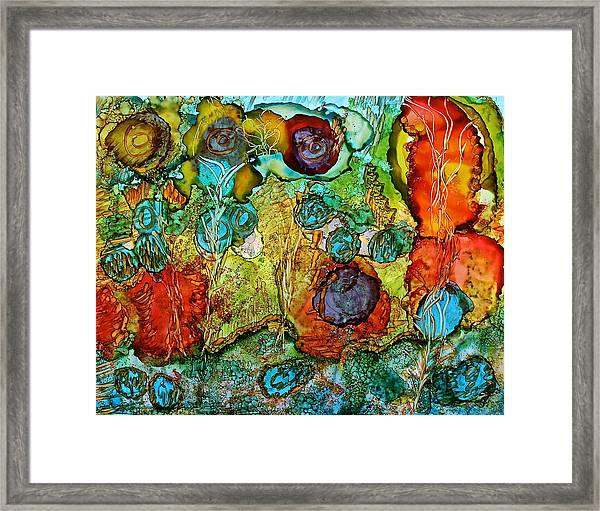 Fairies May Live Here Framed Print