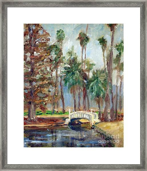 Fairmount Bridge Framed Print