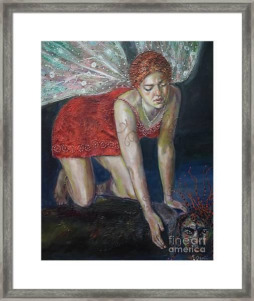 Fairy Faces Bugaboo Framed Print