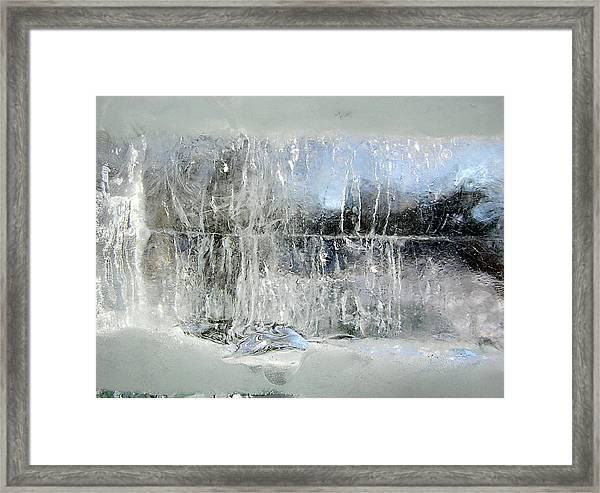 Fairy Winter Framed Print by Andr?? Pelletier