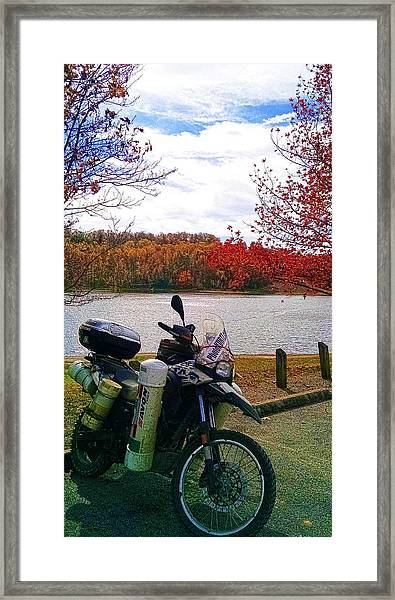 Fall At Fern Clyffe Framed Print