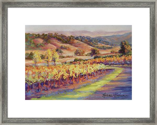 Fall At Rusack's Front Gate Framed Print