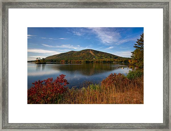 Fall At Shawnee Peak Framed Print