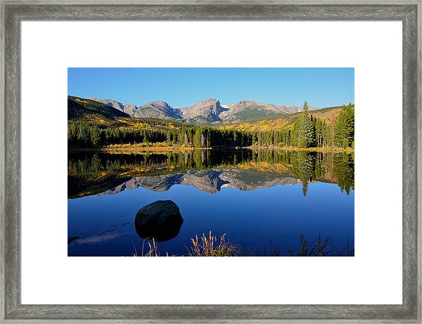 Fall At Sprague Lake Framed Print