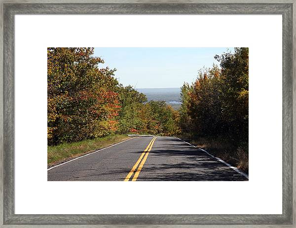 Fall In Minnesota Framed Print