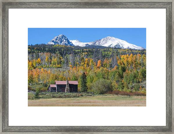 Fall In Summit County Framed Print by Andrew Serff