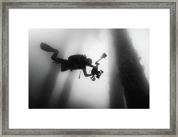 Fall Into The Silence Framed Print