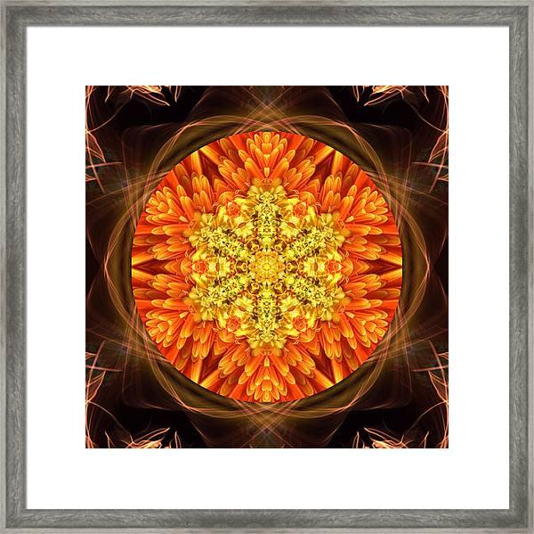 Fall Nature Spirit Framed Print