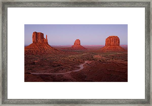 Fall Of Day Framed Print