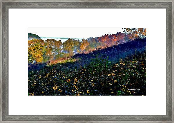 Fall On Garvin Heights Framed Print