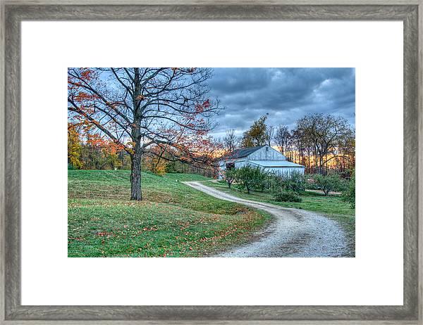 Fall On The Farm Framed Print