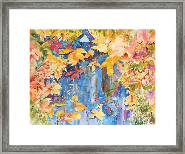 Fall Palette Framed Print